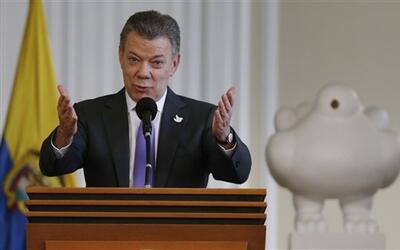El presidente de Colombia, Juan Manuel Santos, espera que las nuevas neg...
