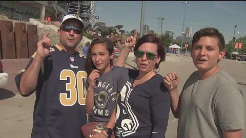 Los Rams están de visita en Denver para enfrentar a los campeones