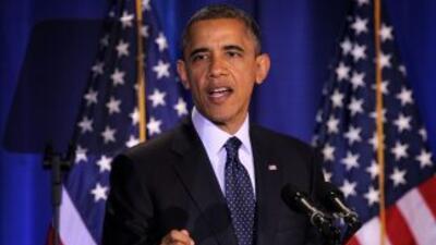 El presidente Barack Obama asegura que en el principio de su segundo man...