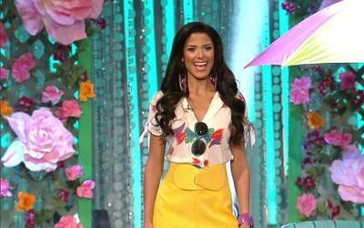 Prueba de talento de Audris en Nuestra Belleza Latina