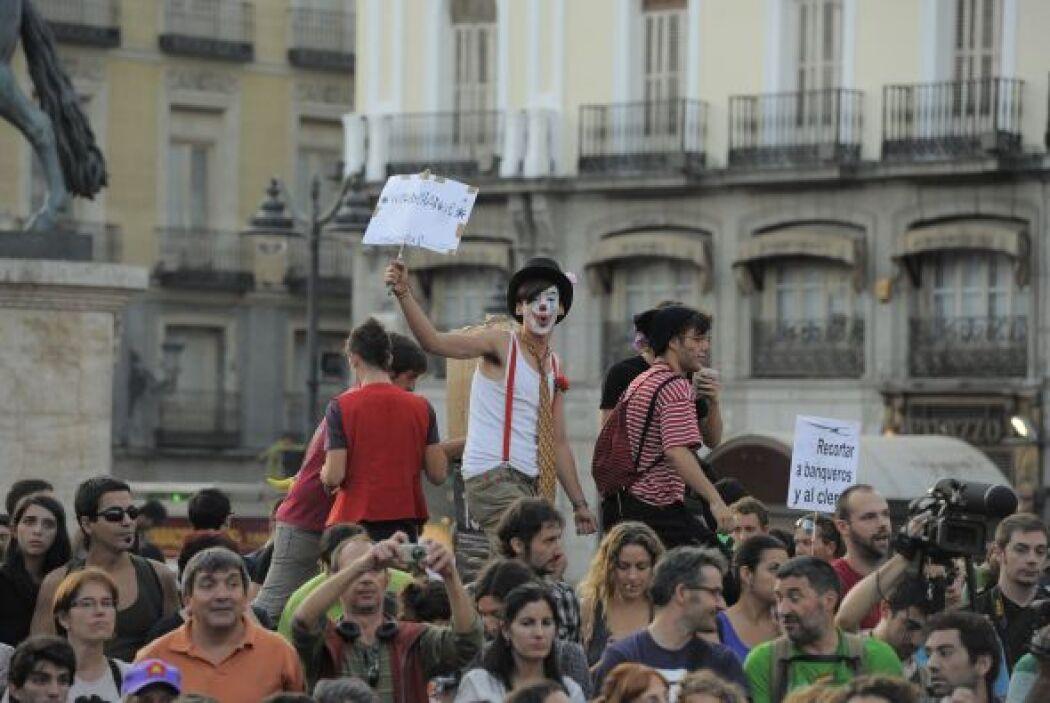 12 de mayo. El movimiento de los Indignados españoles anuncia que volver...