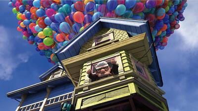 La casa de la película 'Up'