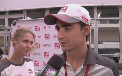 Esteban Gutiérrez está como en casa en el Gran Premio de Estados Unidos...