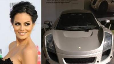 La Miss Universo, Ximena Navarrete dijo que el Mastretta MXT fue el auto...