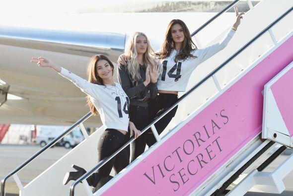 Angelitas de VS se preparan para desfilar en ropa interior
