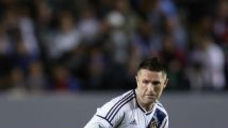 El veterano ariete irlandés del Galaxy, Robbie Keane, fue elegido el Jug...