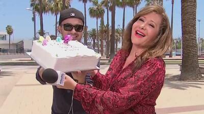 ¡Feliz cumpleaños, Jessica! La celebramos con pastel y todo