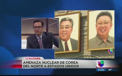 ¿Bajo amenaza de ataque nuclear Estados Unidos?