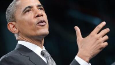 El presidente Barack Obama podría tener las cifras de desempleo a su fav...