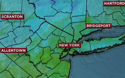 Día nublado, pero con temperaturas altas este jueves en Nueva York
