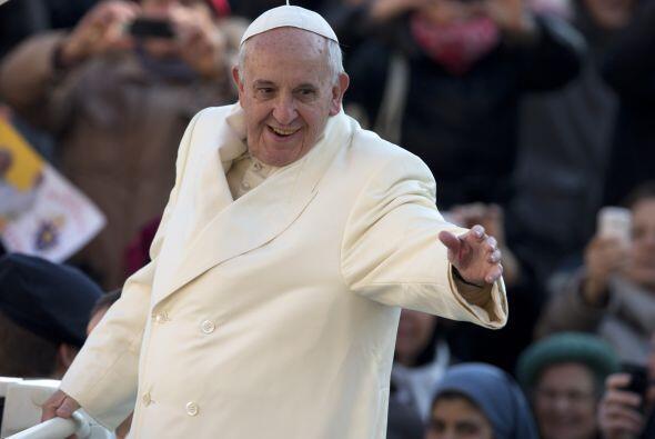 El papa Francisco está de fiesta hoy: cumple un año al frente de la Igle...