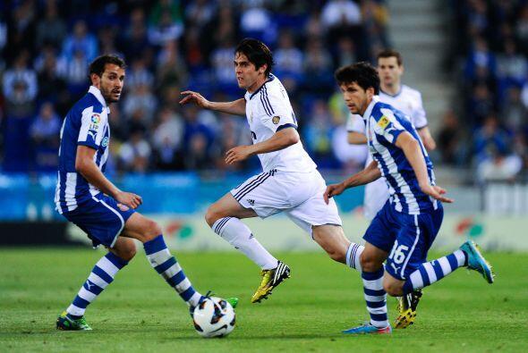 Kaká volvió a ser titular y tuvo un partido con altibajos.