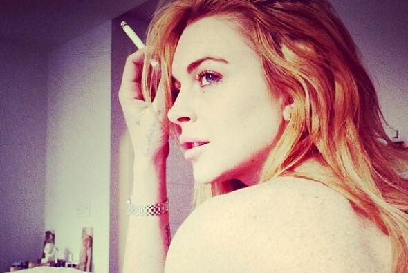 No es nada nuevo que Lindsay Lohan se muestre de lo más sexy en redes so...