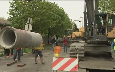 Culmina con éxito un importante proyecto de tuberías y alcantarillado en...
