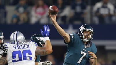 Eagles 33 - 27 Cowboys (TE): Philadelphia se pone en .500 y Dallas 6 der...