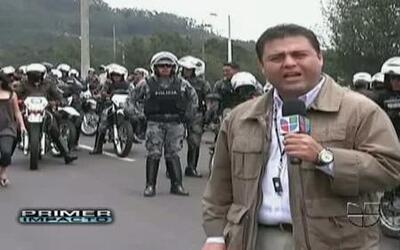 Golpe de estado de policías en Ecuador