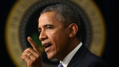 """El presidente de EEUU dijo que está """"muy impresionado con los pronunciam..."""