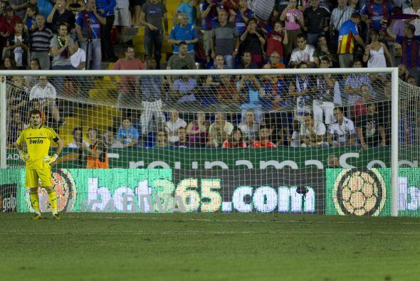 Los madridistas tampoco, incluido el arquero Iker Casillas.