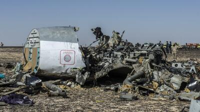 Desastre aéreo en el Sinaí