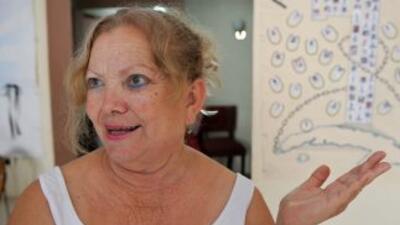 La líder de las Damas de Blanco, Laura Pollán.