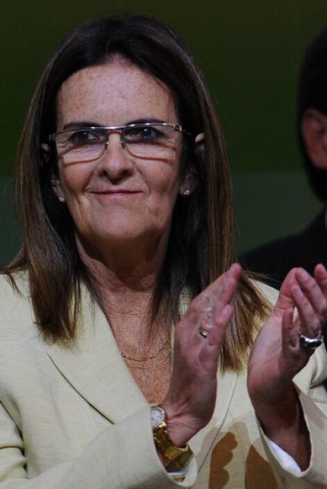 4.Maria de Gracas Silva Foster.  CEO de Petrobras, Silva Foster dirige l...