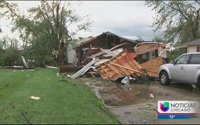 Gran devastación en centro y norte de Indiana por tornados