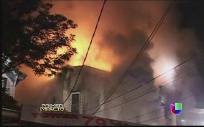 Edificio en Nueva York se convirtió en trampa mortal por un incendio