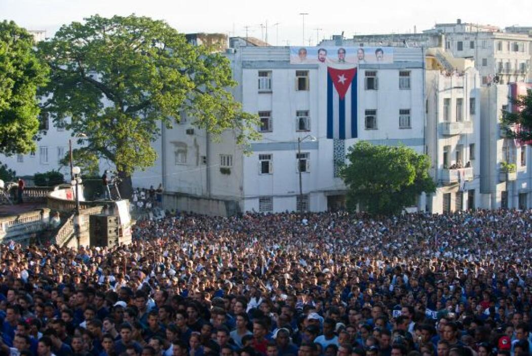 El público que asistió estaba formado casi exclusivamente por estudiante...