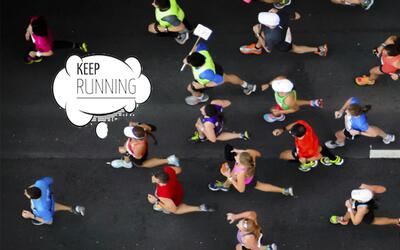 """Yo no corro una maratón si no la corro con mi hijo"" lead corredores bue..."