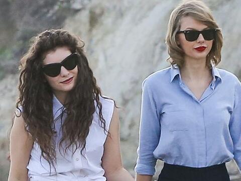 Últimamente hemos visto muy amiguitas a Taylor Swift y Lorde. Mir...