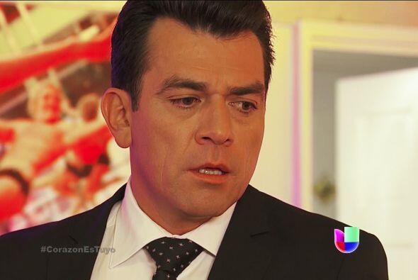 Tranquilo Fernando, toma con calma la situación, Enrique es capaz de tod...