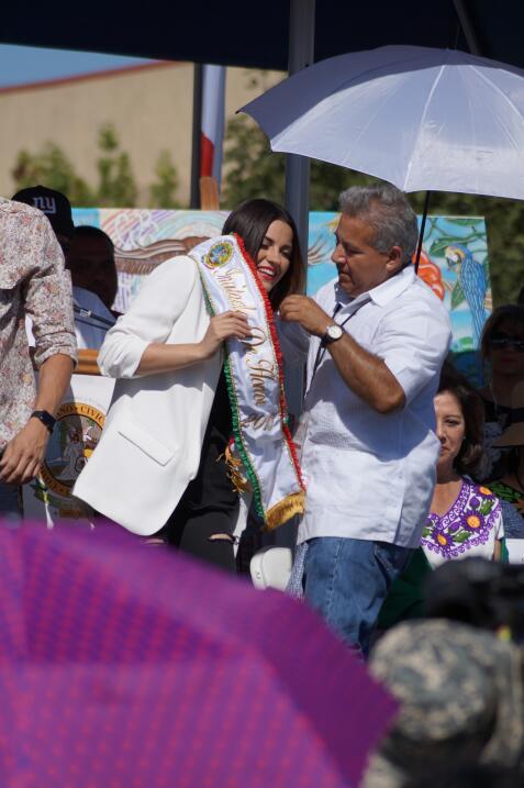 Miles festejaron la independencia de México en el tradicional desfile en...