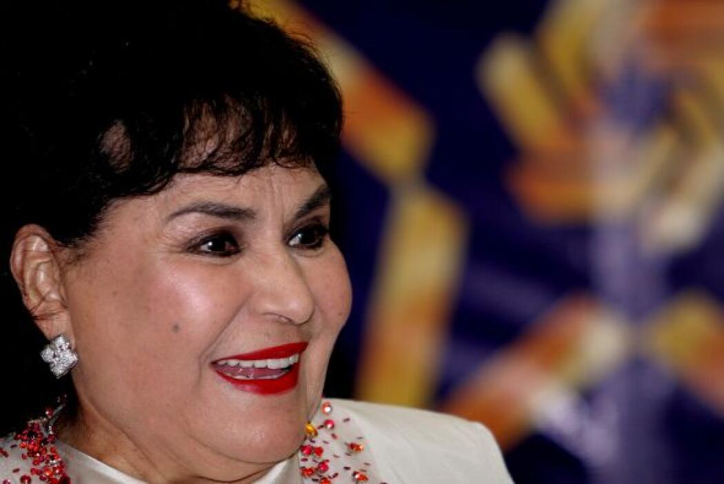 La cercanía de la actriz Carmen Salinas con el pueblo, además de darse g...