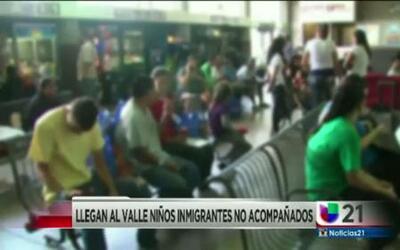 Llegan al valle niños inmigrantes
