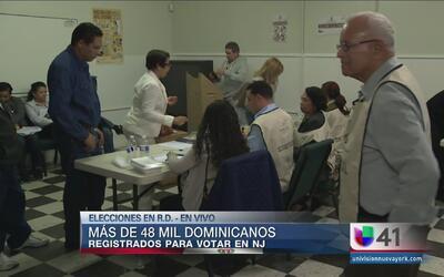 En Nueva Jersey la policía tuvo que intervenir con votantes dominicanos
