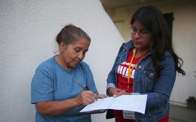 Organizaciones comunitarias lograron registrar más de 3,000 personas par...