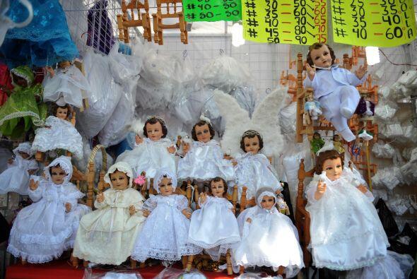 """En el Día de la Candelaria se hace el """"levantamiento del Niño Jesús"""", qu..."""