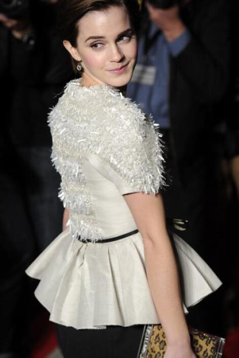 Por esto y más, Emma Watson es todo un icono de la moda.