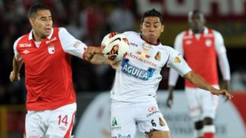 Deportes Tolima empató 1-1 en la cancha del Independiente Santa Fe y con...