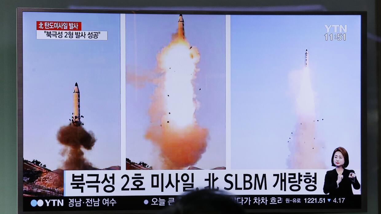 Pyongyang confirmó el lanzamiento de un nuevo modelo de misil, el...