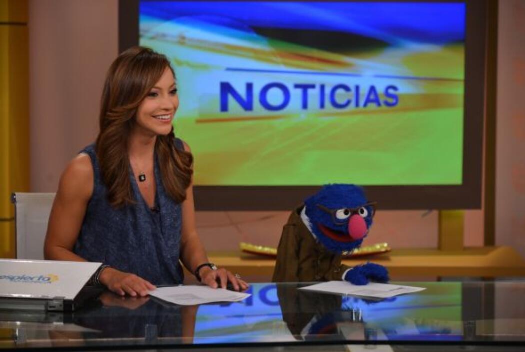 Grover hizo un gran trabajo en la parte de noticias.
