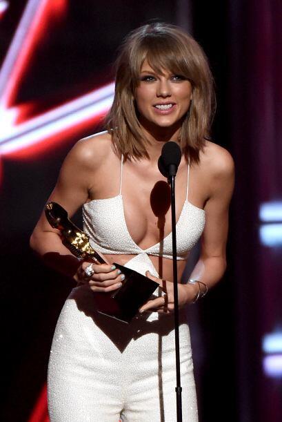 Como siempre, apareció sonriente y muy orgullosa del afecto del público.