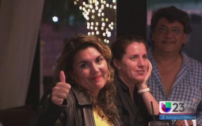 Con esperanza argentinos en Miami tras victoria de Macri