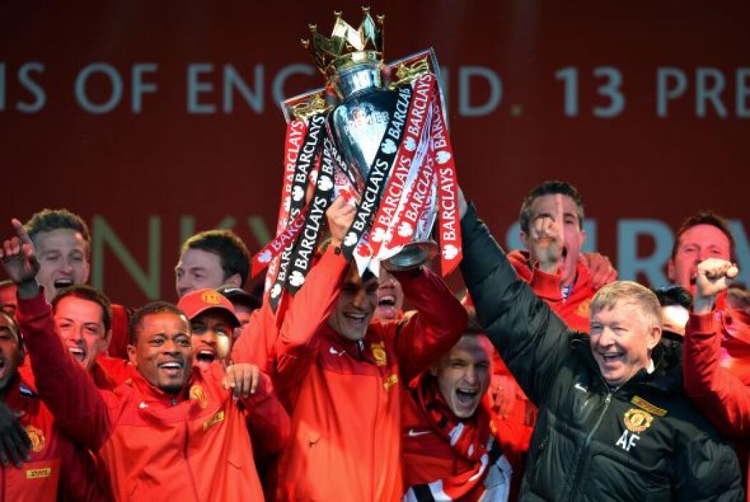 El campeón de la Premier League, Manchester United, buscará repetir su t...