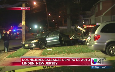 Dos mujeres son baleadas en tiroteo en Nueva Jersey