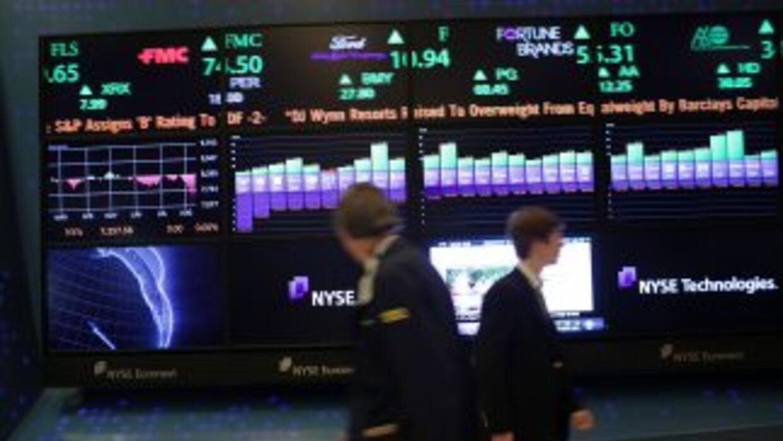 Medios aseguran que esta ha sido la semana más volátil para la Bolsa de...