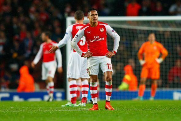 El Arsenal dejó ir una ventaja de 3-0 sobre el Anderletch, para a...