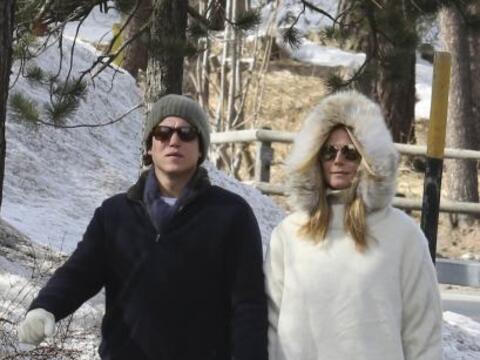El romance de Heidi y Vito va viento en popa.