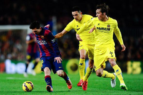 Y en un abrir y cerrar los ojos, el Barcelona le dio vuelta al marcador...