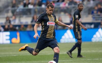 Tranquillo Barnetta comanda el impulso de Philadelphia Union en la MLS.